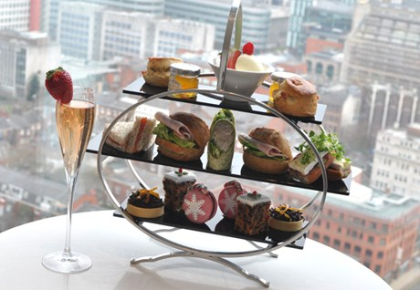 Christmas Afternoon Tea at Cloud 23