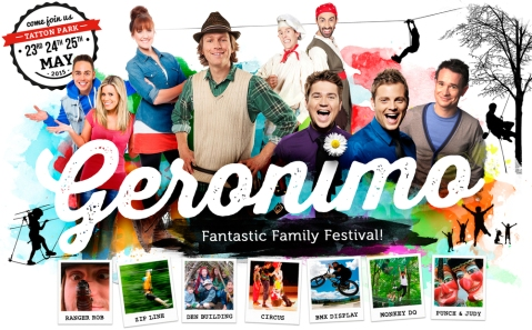 Geronimo Festival at Tatton Park