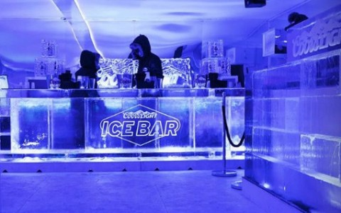 Coors Light Ice Bar