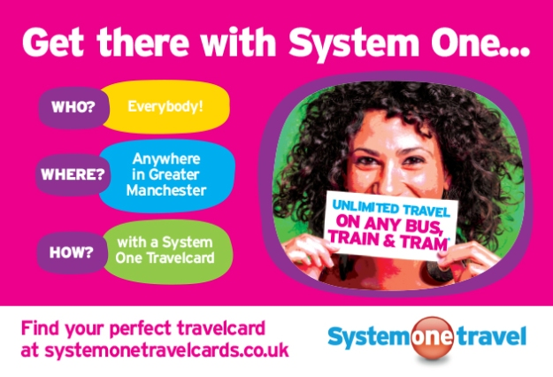 Get there with System One